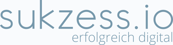 Das Logo der freien Online-Marketing-Agentur sukzess.io